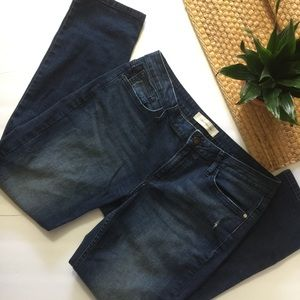 Calvin klein ultimate skinny blue distressed jeans